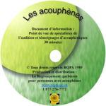 DVD Les Acouphènes