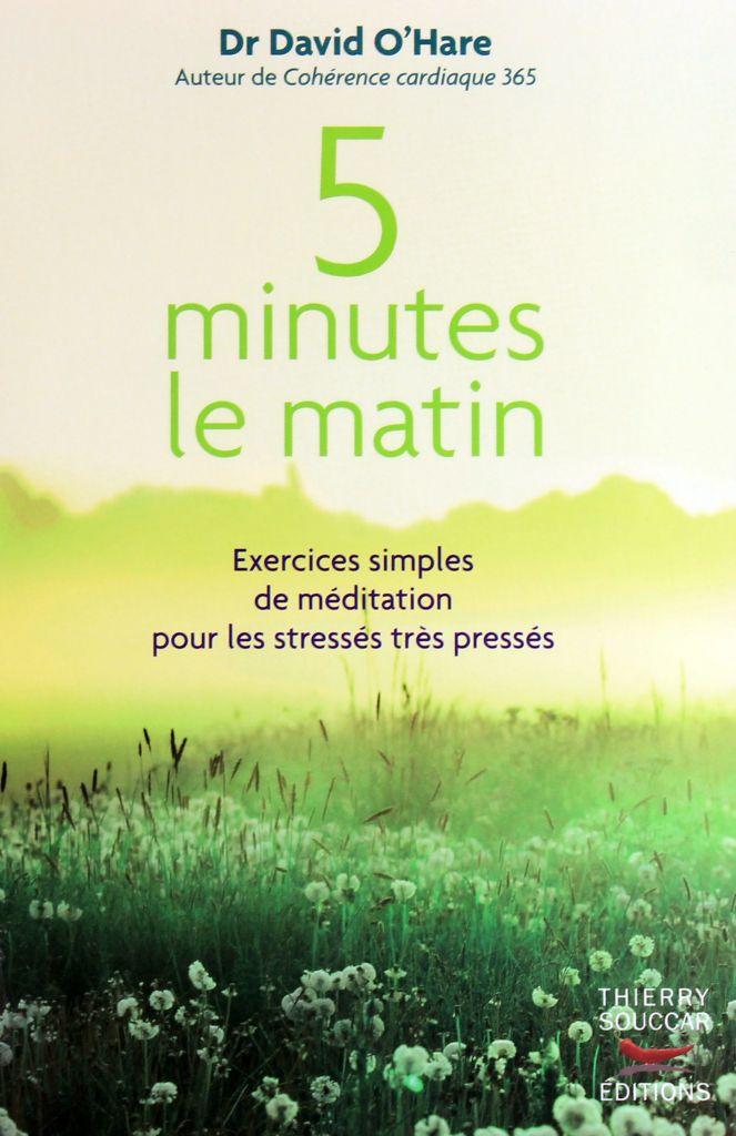 livre - 5 minutes le matin